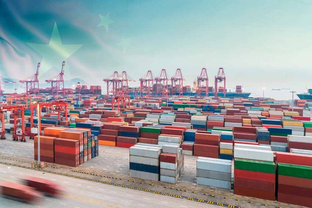 importing a container from china